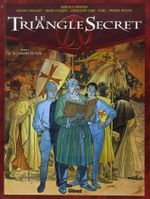 Couverture Le Testament du fou - Le Triangle secret, tome 1