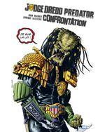 Couverture Confrontation - Judge Dredd/Aliens/Predator, tome 2