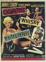 Affiche Cigarettes, whisky et petites pépées