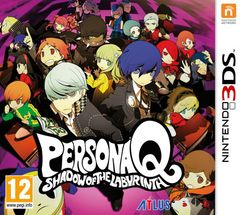 Jaquette Persona Q : Shadow of the Labyrinth