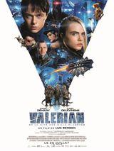 Affiche Valérian et la Cité des mille planètes