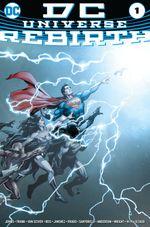 Couverture DC Universe Rebirth