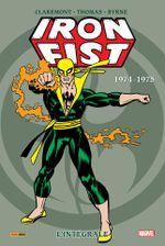 Couverture Iron Fist - Intégrale 1974-1975