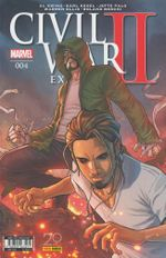 Couverture Civil War II Extra, tome 4