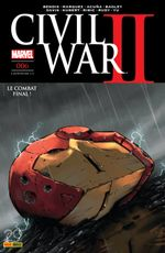 Couverture Civil War II, tome 6