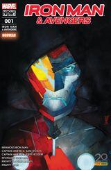 Couverture L'Homme au masque de fer - Iron Man & Avengers, tome 1