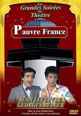 Affiche Pauvre France