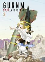 Couverture Gunnm Mars Chronicle, tome 3