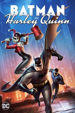 Affiche Batman et Harley Quinn