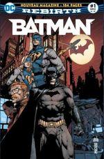 Couverture Le retour de Batman ! - Batman Rebirth (DC Presse), tome 1