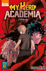 Couverture My Hero Academia, tome 10