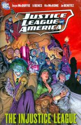Couverture Justice League of America, Vol. 3: The Injustice League
