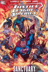 Couverture Justice League of America, Vol. 4: Sanctuary