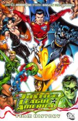 Couverture Justice League of America: Team History