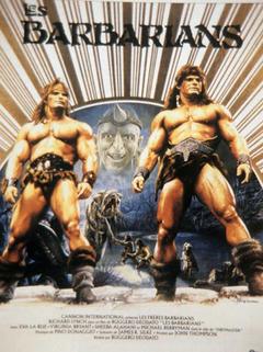 Affiche Les Barbarians