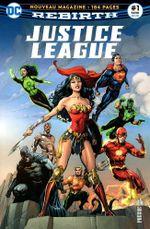 Couverture La Ligue de Justice accueille de nouveaux membres ! - Justice League Rebirth (DC Presse), tome 1