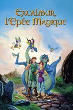 Affiche Excalibur, l'épée magique
