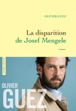 Couverture La Disparition de Josef Mengele