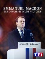 Affiche Emmanuel Macron, les coulisses d'une victoire