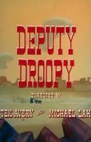 Affiche Droopy shérif adjoint
