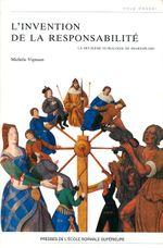 Couverture L'invention de la responsabilité : La deuxième tétralogie de Shakespeare