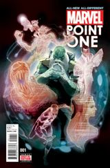 Couverture All-New All-Different Marvel Point One