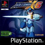 Jaquette Mega Man X6