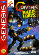 Jaquette Contra : The Hard Corps