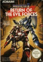 Jaquette Probotector II : Return of the Evil Forces