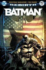 Couverture Deux surhommes protègent Gotham City! - Batman Rebirth (DC Presse), tome 2