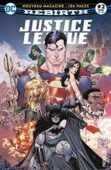 Couverture Doomsday arrive en ville ! - Justice League Rebirth (DC Presse), tome 2