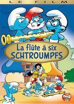 Affiche La Flûte à six schtroumpfs