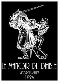 Affiche Le Manoir du Diable