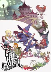 Affiche Little Witch Academia
