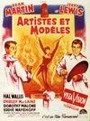 Affiche Artistes et Modèles