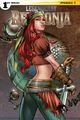 Couverture Legenderry Red Sonja