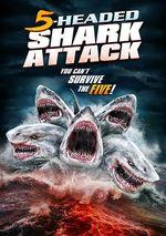 Affiche L'Attaque du requin à cinq têtes