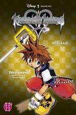 Couverture Kingdom hearts Intégrale : Chain of memories Volume 2