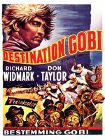 Affiche Destination Gobi