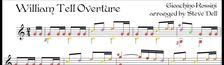 Cover Les films où l'on entend l'Ouverture du Guillaume Tell de Gioachino Rossini