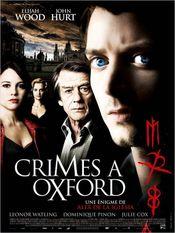 Affiche Crimes à Oxford
