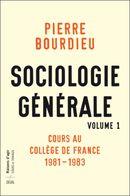 Couverture Sociologie générale vol. 1