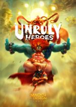 Jaquette Unruly Heroes