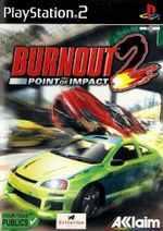 Jaquette Burnout 2 : Point of Impact