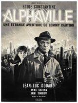 Affiche Alphaville, une étrange aventure de Lemmy Caution