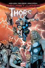 Couverture Secret Wars : Thors
