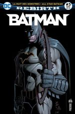 Couverture Les monstres attaquent Gotham ! - Batman Rebirth (DC Presse), tome 3