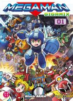Couverture Megaman Gigamix, Tome 01