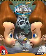 Jaquette Jimmy Neutron vs. Jimmy Negatron