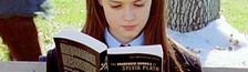 Cover Rory Gilmore reading challenge